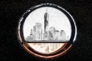NYC through porthole