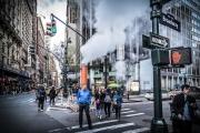 Walking on Broadway