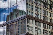 Glass and steel